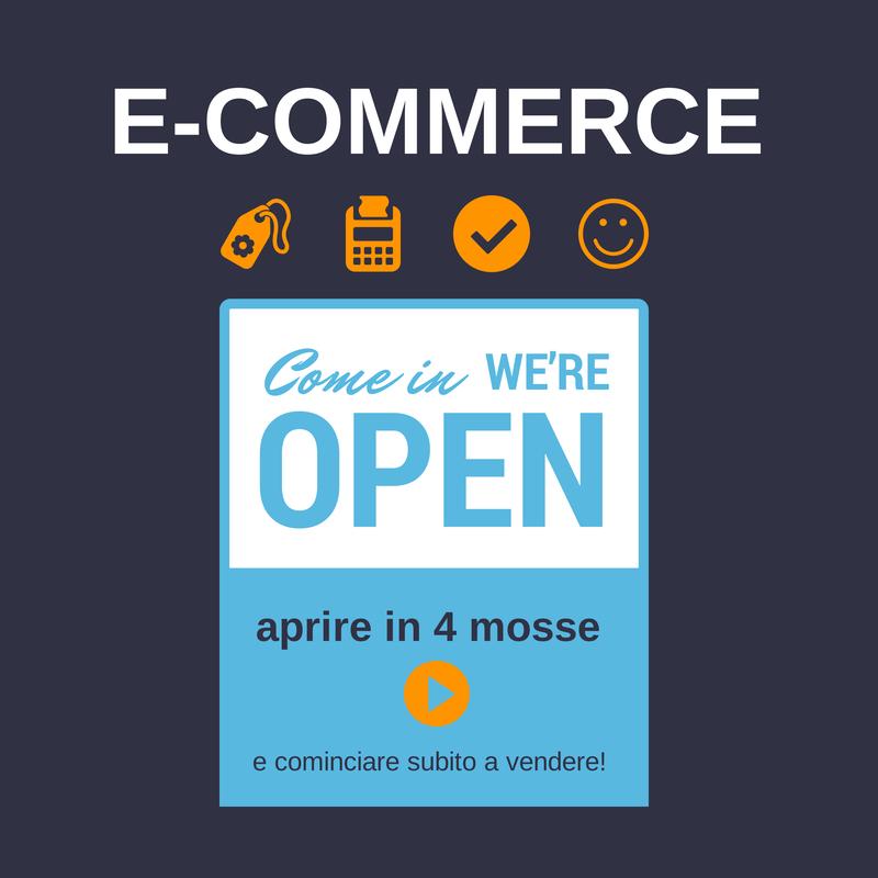 aprire un e-commerce in 4 mosse