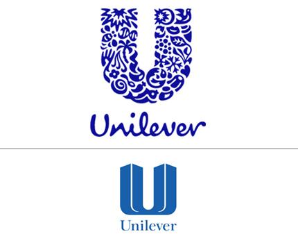 unilever logo aziendale nuovo e vecchio a confronto