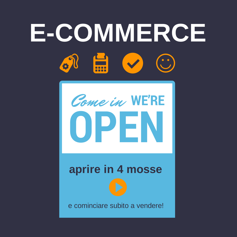aprire un e-commerce in 4 mosse