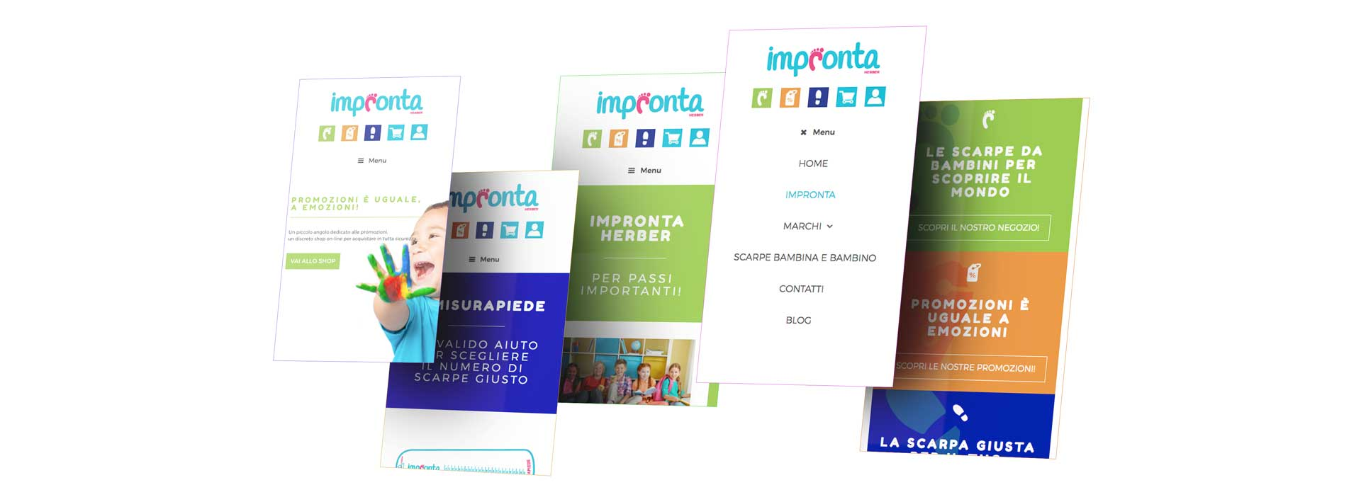 GSite Impronta Herber mobile version