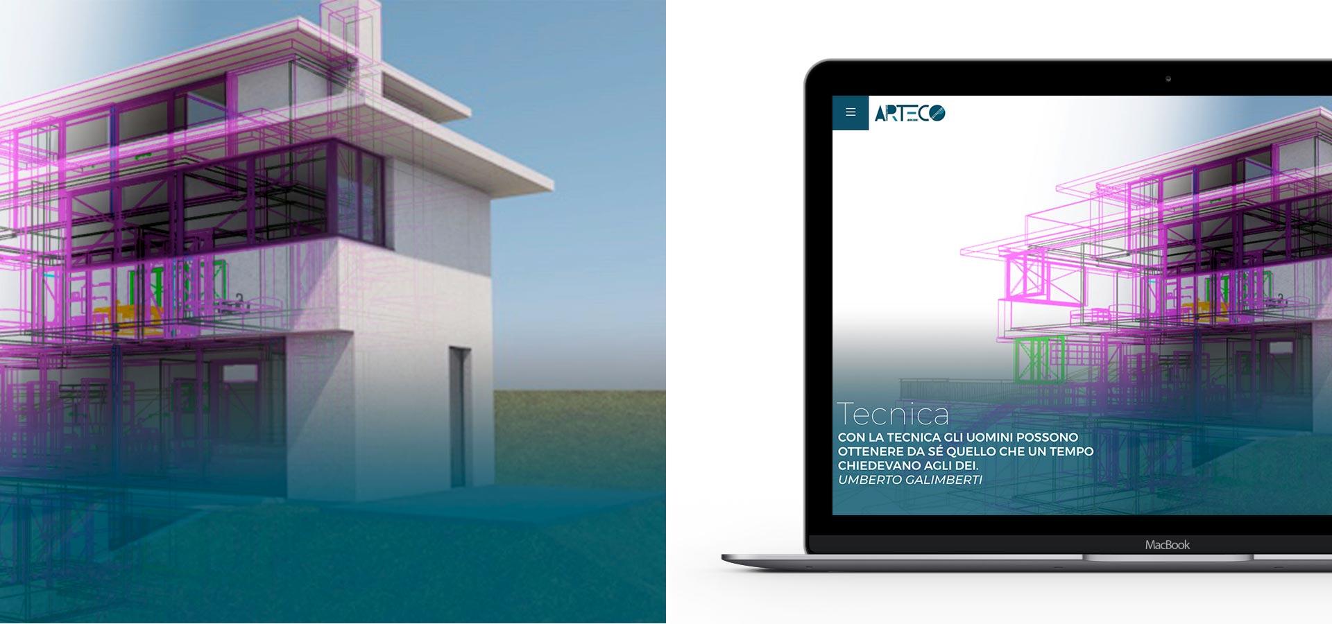 GSite Arteco web site Arteco Tecnica