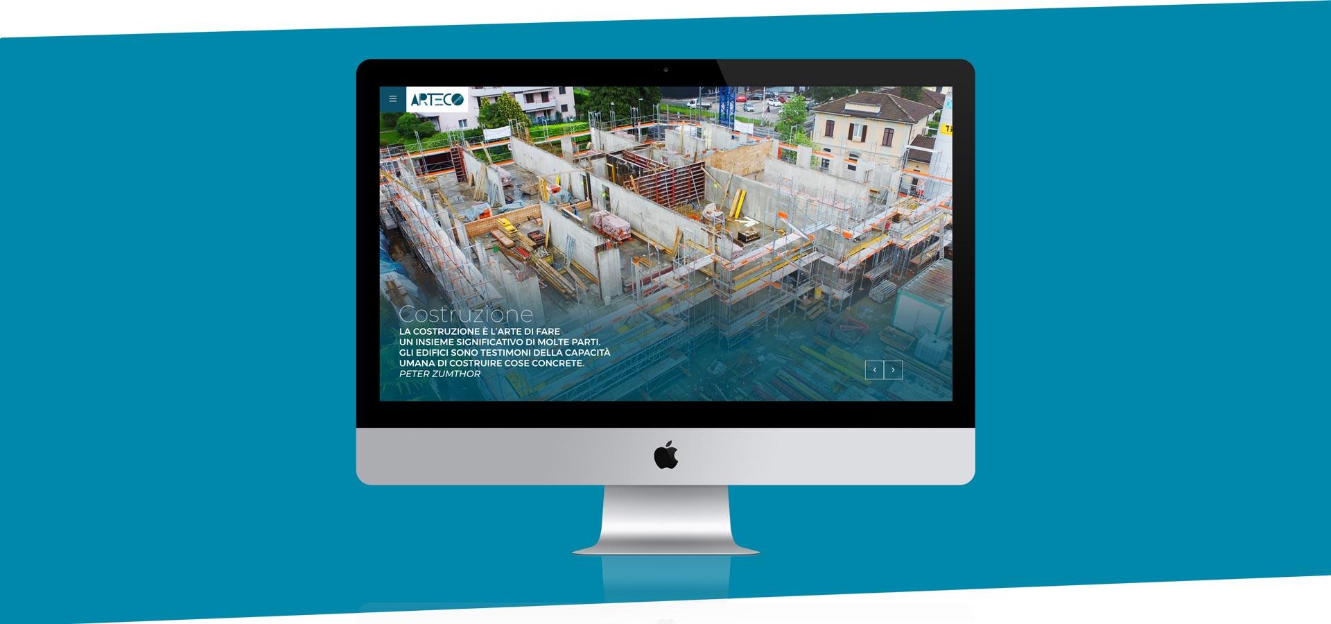 GSite Arteco web site