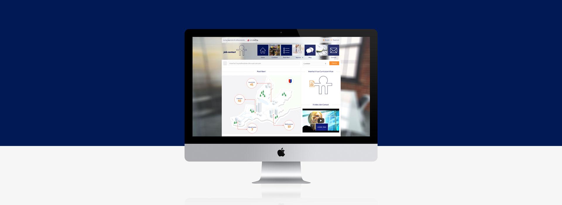 GSite sito web job contact