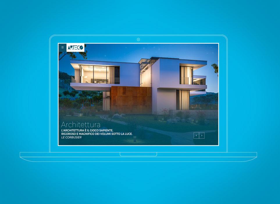 gsite web agency progetto Arteco