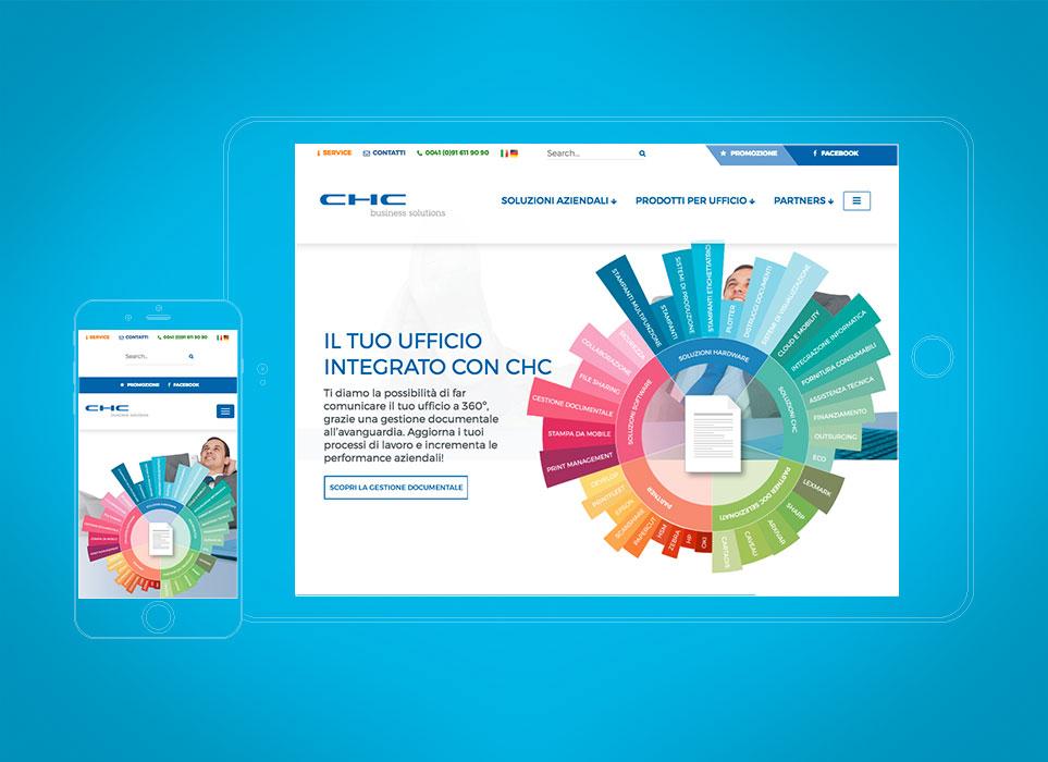 gsite progetto sito web ticino, chc business solutions