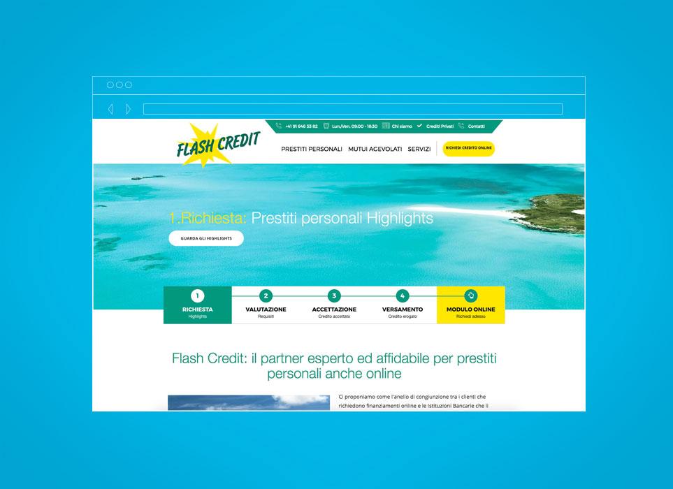 Sviluppo sito web agenzia prestiti personali