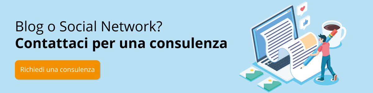 GSite Consulenza Blog o Social network