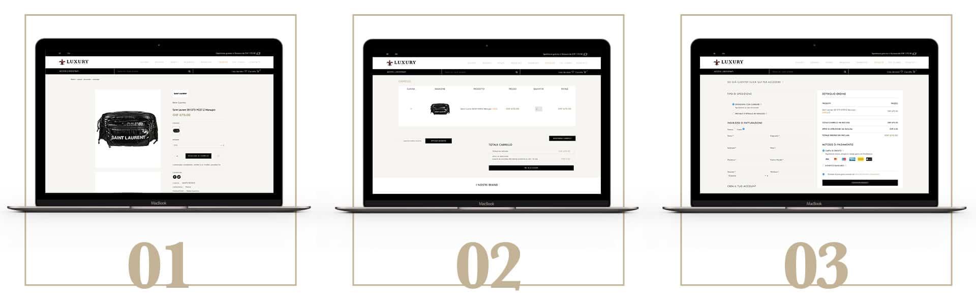 GSite web agency creazione sito e-commerce in Svizzera